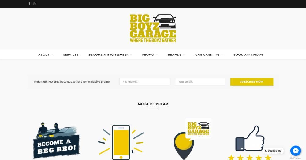 Big Boyz Garage