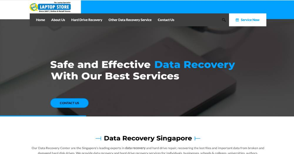Data Recovery Singapore