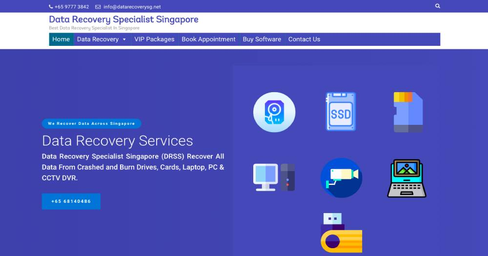 Data Recovery Specialist Singapore