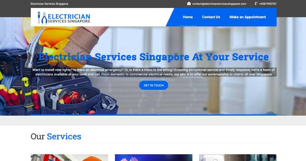 Electrician Services Singapore