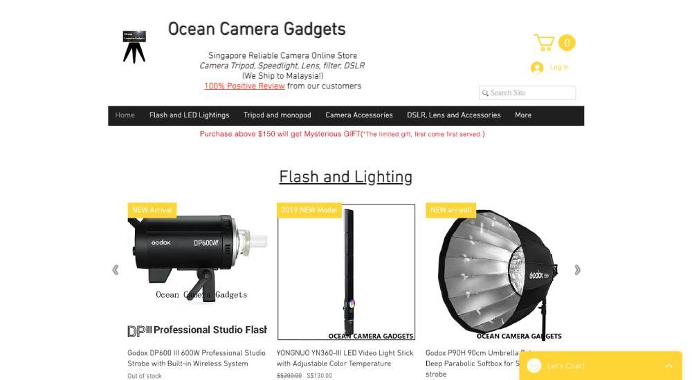 Ocean Camera Gadgets