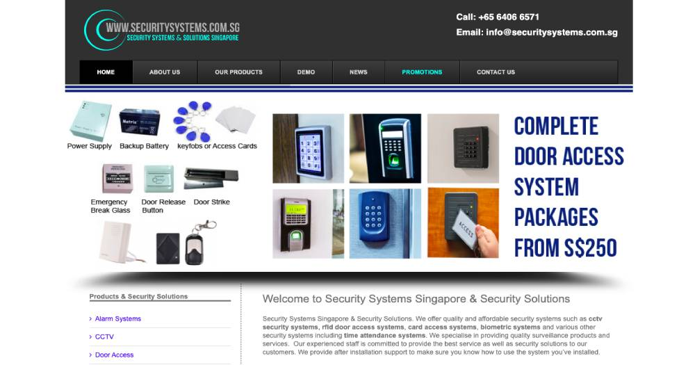 Security Systems & Solutions Singapore