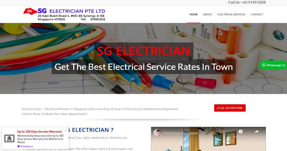SG Electrician
