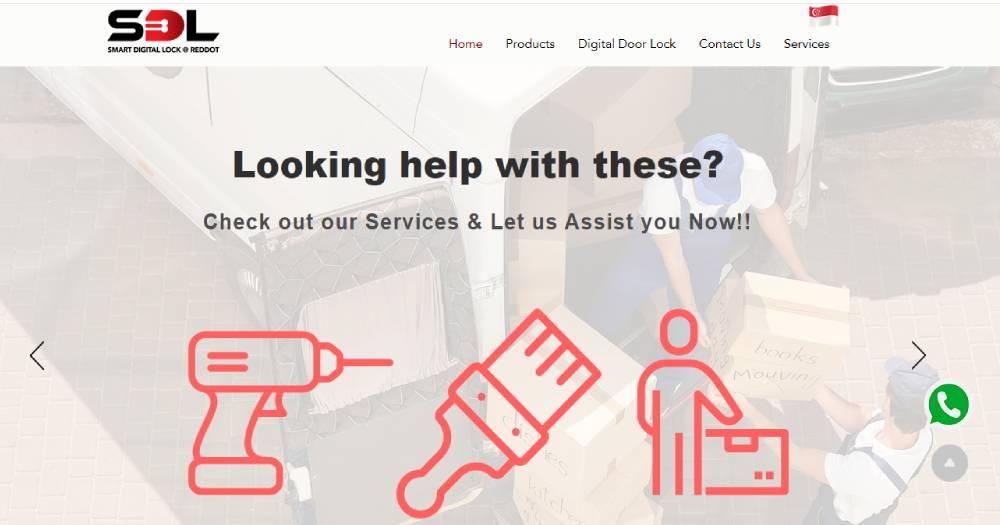 Smart Digital Lock at Reddot